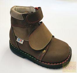 Supi+ Bokor supinált fiú  tépőzáras cipő 06-os modell,vékony bokára 19