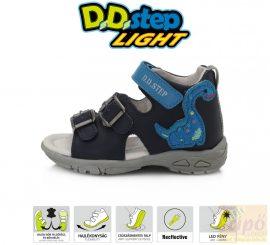 D.D.Step szandál 290-816 ,lépéskor oldalán villog 19, keskeny lábra