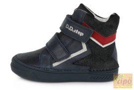 D.D.Step 040-343 kék  bőr cipő 25