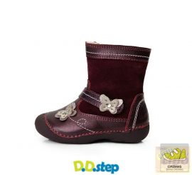 Dd Step bélelt csizma 015-124 violet 20