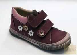 Florens F 68 cipő, padlizsán 31,szélesebb lábfejre,vagy lúdtalpbetéthez ajánlott