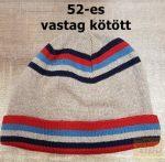 Füles márkájú téli kötött sapkák, polár vagy kötött anyagú,52-es méret