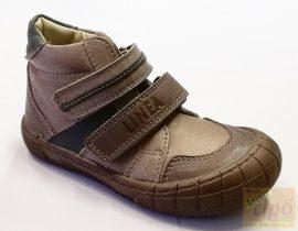 Akciós Linea barna-kék cipő 19