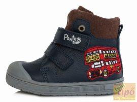 Ponte20 DA03-1-560 kék cipő széles lábra ajánlott 24