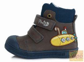 Ponte20 DA03-1-560 szürke cipő 23