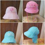 Nyári vászon kalap lányoknak