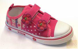 Super Cool vászoncipő pink 29 Széles,erős lábra