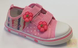 Super Cool vászoncipő rózsa 29 Széles,erős lábra