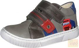Szamos 1532-10041 tavaszi cipő, szürke, hímzett mintával 35