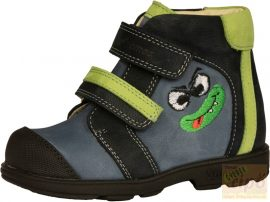 Szamos 1567-20709 supinált cipő kék 23