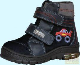 Szamos DryTex vízálló, bélelt téli cipő/bakancs 1541-27302 sötétkék piros 20