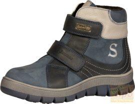 Szamos 1540-27117 DryTex vízálló, bélelt ,téli cipő/bakancs  kék 34
