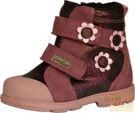 Szamos Tex 1551-78749 vízálló supinált, téli,bélelt cipő/bakancs, bordó 21