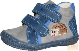 Szamos első lépés tavaszi-őszi cipő 1497-20657 szürke-kék 18