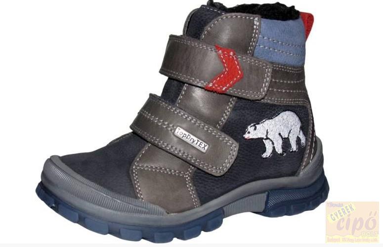 6a98483573 Szamos DryTex vízálló,bélelt téli magasszárú cipő 20