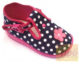 Zetpol Daria kék-rózsa vászoncipő 22