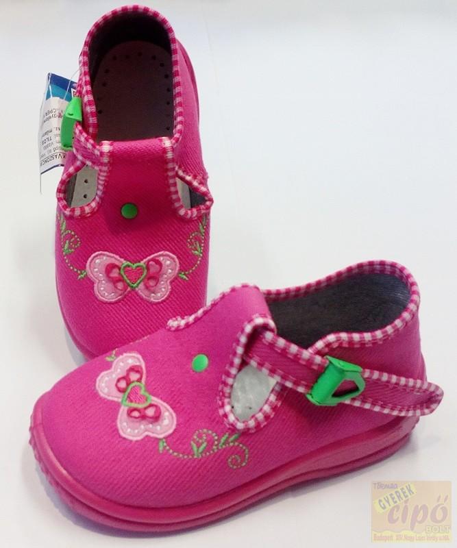 2115090e0c Zetpol Daria rózsa vászoncipő 23