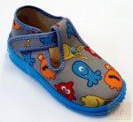 Zetpol Ignas vászoncipő kék 18
