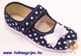 Zetpol Julia kék vászoncipő 28