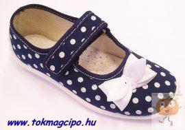 Zetpol Julia kék vászoncipő 29